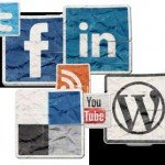 social media icons for Twitter, Facebook, LinkedIn, Delicious, YouTube, WordPress