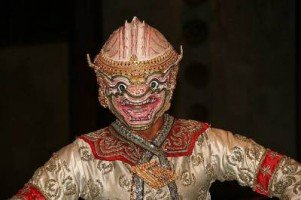 Traditional Thai dancer