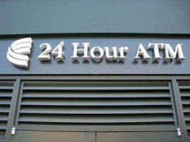 Closed 24-hour ATM