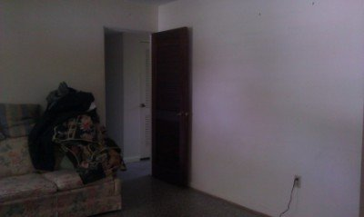 the almost-empty living room