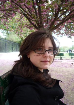 The author in Paris, April 2010