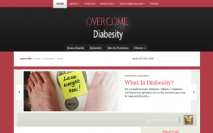 Overcome Diabesity screen shot