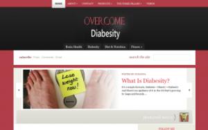 Overcome Diabesity screen shot