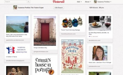 Expats! Pinterest Pinboard