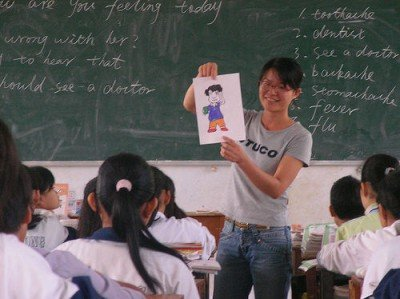 Teaching Middle School in China