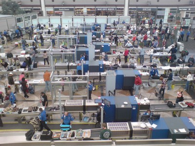 US airport security screening