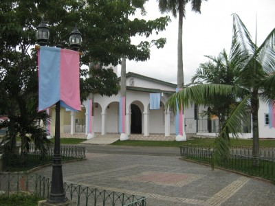 church in Pedasi, Panama
