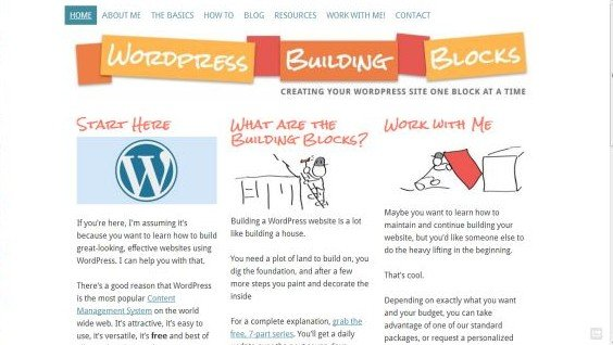 WordPress Building Blocks
