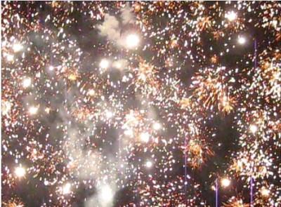 Las Tablas, Panama fireworks