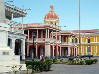 Granada, Nicaragua town square
