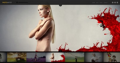 PhotoArtist WordPress Theme