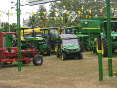 Azuero Fair farm equipment