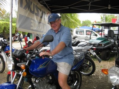 Azuero Fair motorcycles
