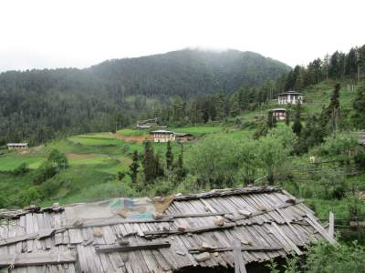 Village in Haa, Bhutan