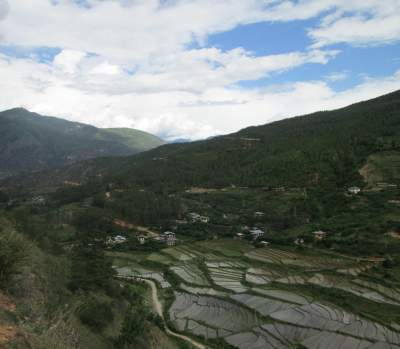 Route from Haa to Paro, Bhutan