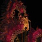 Closeup of Carnaval float