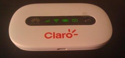 Claro wireless router