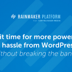 Rainmaker Platform: Manage your Portable Career Easier and Faster