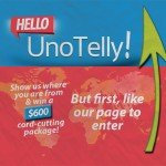 image of UnoTelly contest poster