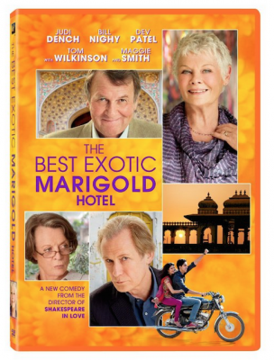 image of The the Best Exotic Marigold Hotel DVD