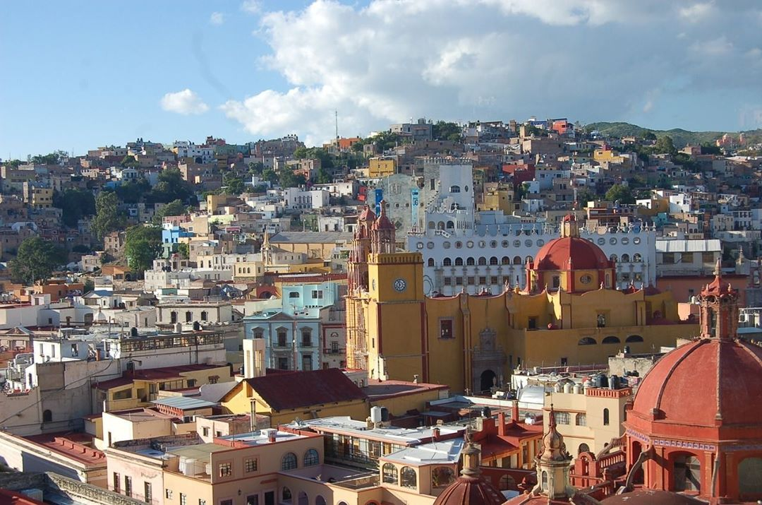 Guanajuato Mexico became wealthy as a silver mining town duringhellip