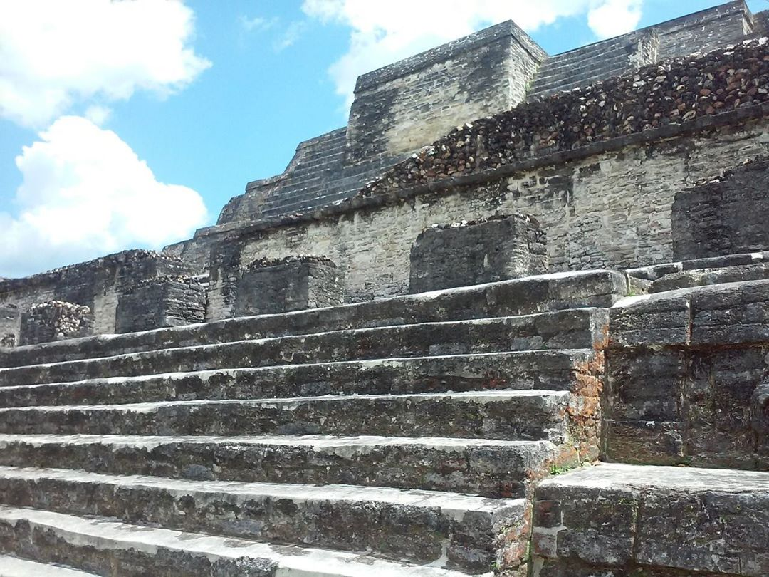 Mexico? Close These are Mayan ruins in Belize Mexicos tinyhellip